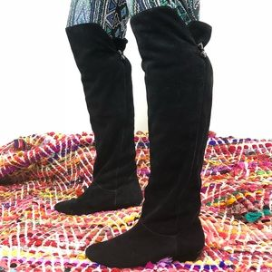 Steve Madden Blondee over the knee boots suede